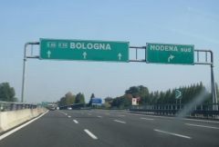 On the way to Imola