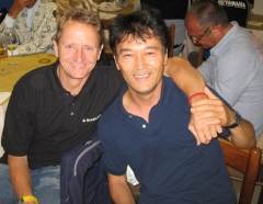 Kevin and Nagano-san