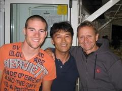 Ben, Nagano-san and Kevin