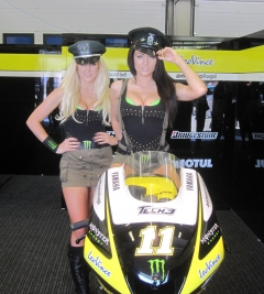 Our pit girls at Jerez