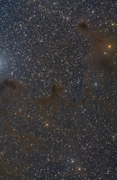 LDN129 Lynds Dark Nebulae