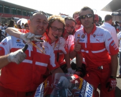 On the grid with Ducati