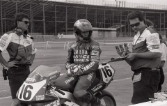 Yamaha with Kipp