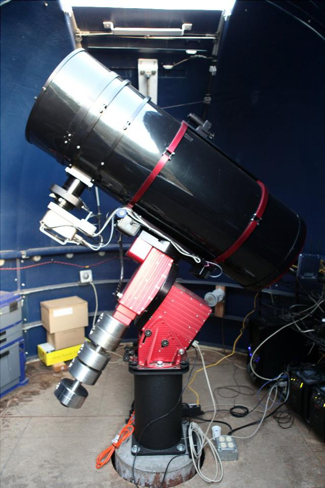 "Our new scope is an AG Optical 16"" Newtonian Astrograph Our new scope is an AG Optical 16″ Newtonian Astrograph"