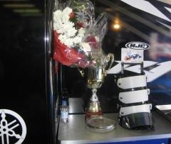 Race 1 trophy