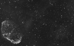 NGC6888 (Crescent Nebulae) and the Cygnus Bubble